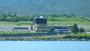 Ketchikan International Airport on Gravina Island. (KRBD file photo)