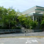 Ketchikan High School. (KRBD file photo)