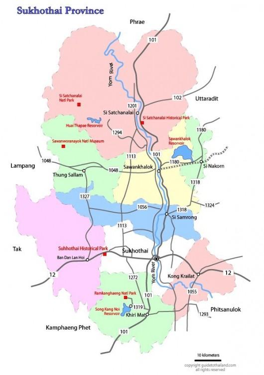 map-sukhothai