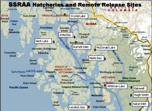 (SSRAA map)