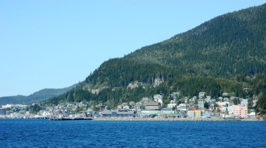 Ketchikan from the water