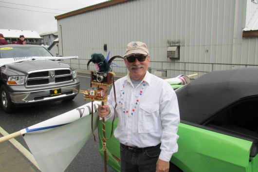 Parade Grand Marshal Hall Anderson