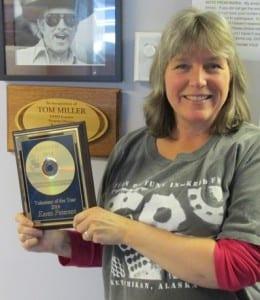Karen Petersen KRBD's 2014   Volunteer of the Year!