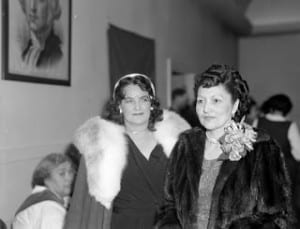 Elizabeth Peratrovich, right, circa 1945. (Photo by William Paul Jr./Sealaska Heritage Institute Digital Collection)
