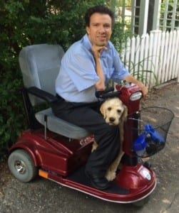 Kevin Gadsey and his dog, Monty. (Photo courtesy Kevin Gadsey)