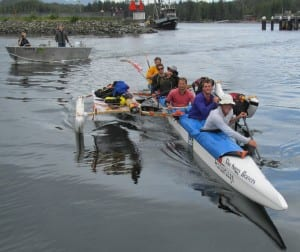 Team Soggy Beavers was one of the 15 teams to finish last year's Race to Alaska. (KRBS file photo)