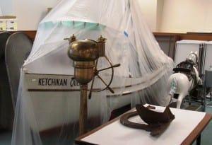 The Ketchikan Queen is the Tongass Historical Museum's largest artifact. (Photo by Leila Kheiry)