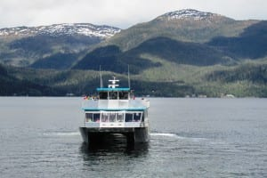 Fourth-graders took a tour of Carroll Inlet on board two Allen marine boats. (Photo by Leila Kheiry)