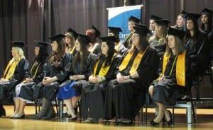 UAS Ketchikan 2016 graduates. (Photo by Leila Kheiry)