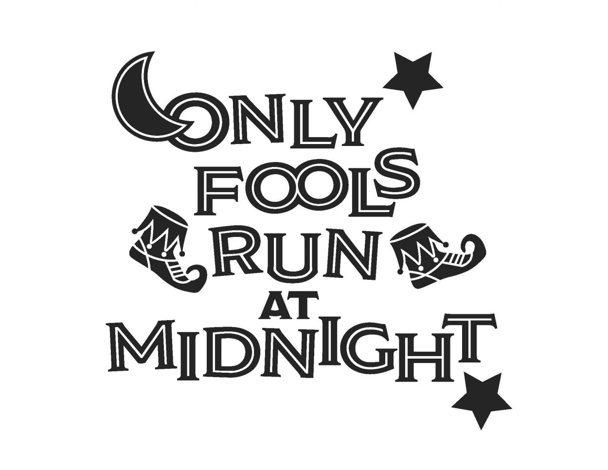 only fools run at midnight art