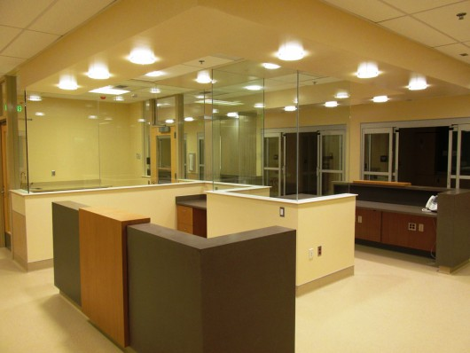 The new surgery suite recovery area at PeaceHealth Ketchikan Medical Center. (Photo by Leila Kheiry)