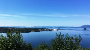 A view of Metlakatla on Annette Island, Alaska's only Native reserve. (Photo by Leila Kheiry)