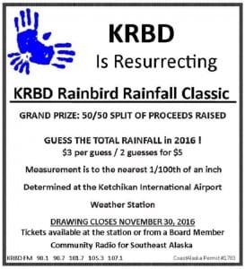 2016 Rainfall Raffle Ad