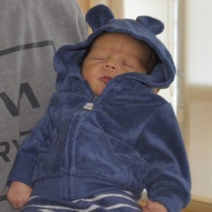 Jocko Reyes Scudero  is the first Ketchikan baby of 2017. (PeaceHealth photo)