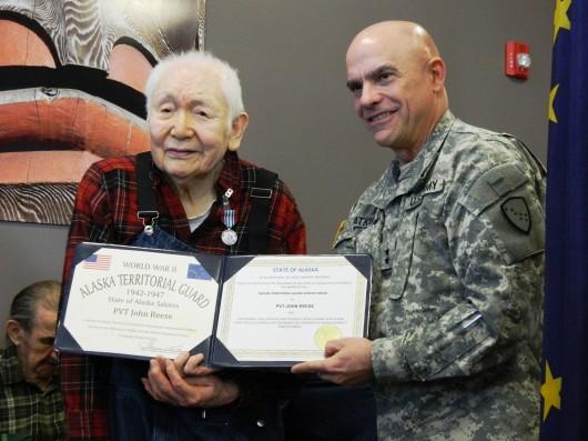 Former Alaska Territorial Guard members honored