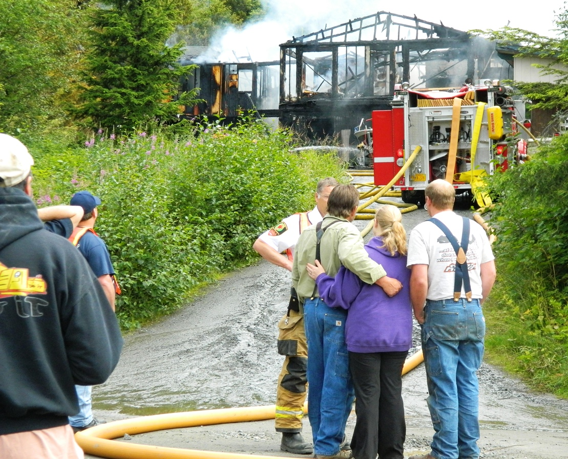 Deadly fire south of Ketchikan destroys home