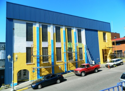 Bright new paint for the Performing Arts Center