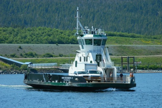 Ferry Oral Freeman breaks down in Narrows
