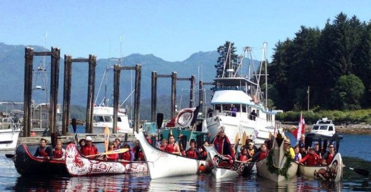 Alaska, Canada paddlers link two Metlakatlas
