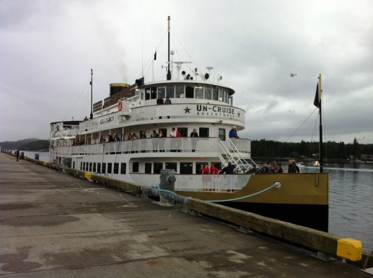 SS Legacy makes inaugural visit to Ketchikan