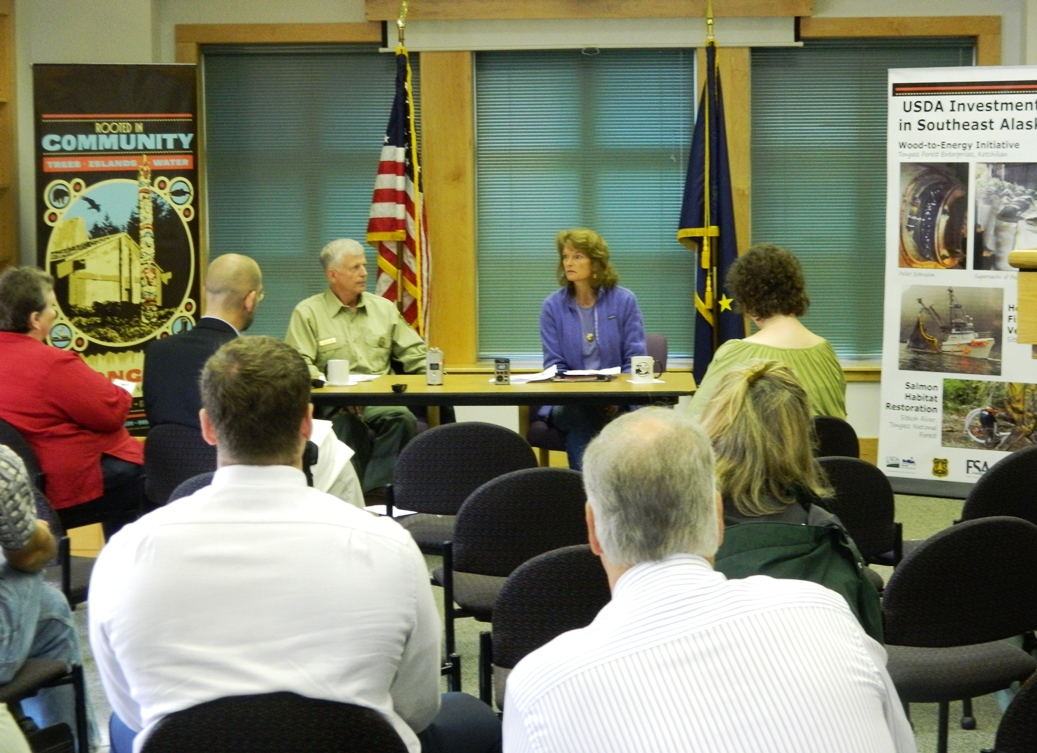 USFS chief touring Southeast with Murkowski