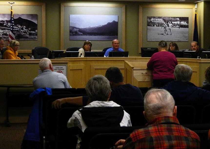 Citizens debate Ketchikan Public Library funds