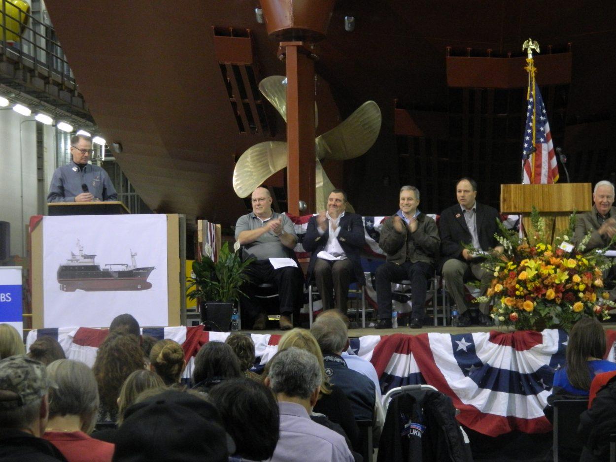 Arctic Prowler unveiled at Ketchikan shipyard