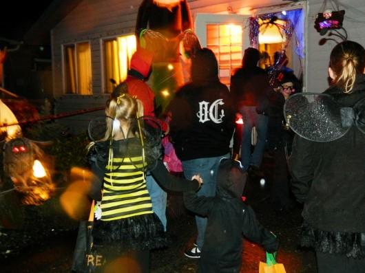 Mixed response to Jackson Street Halloween tradition