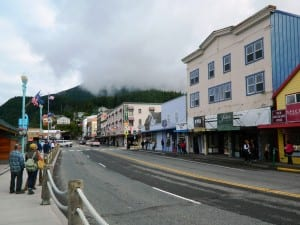 Another view of Front Street. (KRBD file photo)