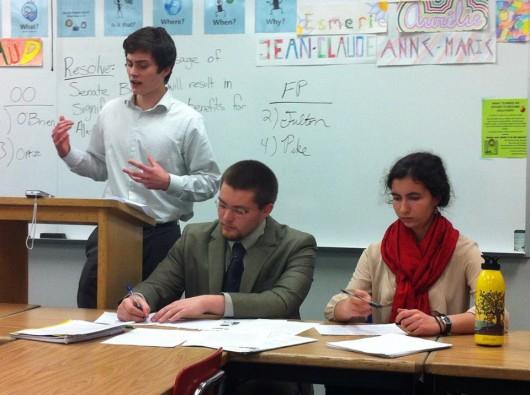 Southeast students meet to debate Senate Bill 21