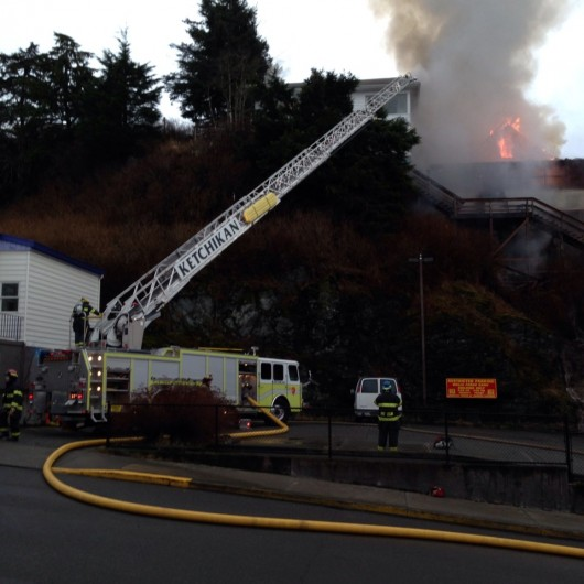 No injuries in house fire on Edmonds Street