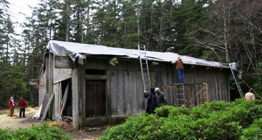 Grant advances Kasaan longhouse repairs