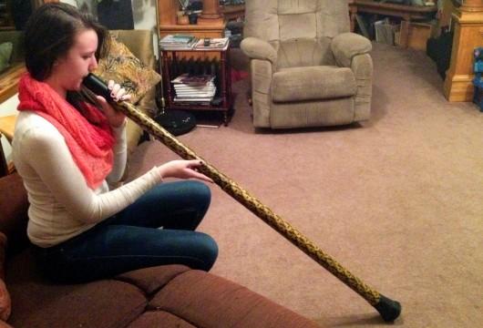 Ketchikan teen plays…a didgeridoo?