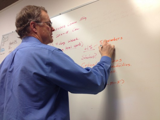 Rick Rafter of the calender committee writes questions the four-day week possibility brings up