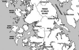 POW map BW