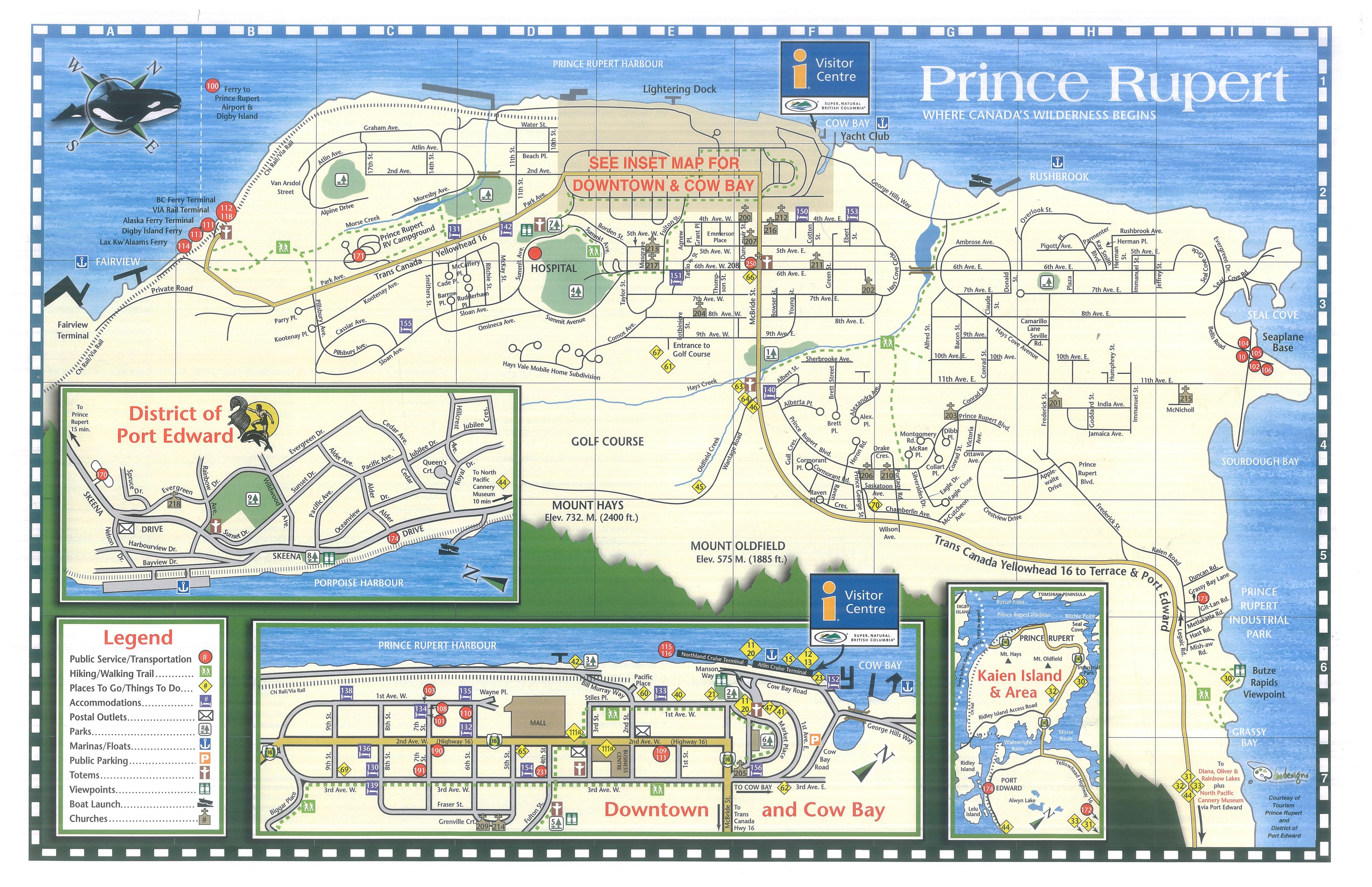 Prince Rupert Map Prince Rupert mayor touts economic opportunities   KRBD Prince Rupert Map