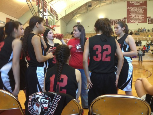 Klawock Lady Chieftains wrap up season at 1A tournament