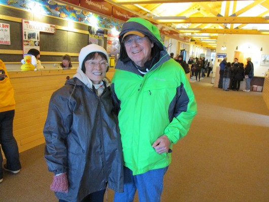 Bill and Terri Heaver are tourists from Virginia.