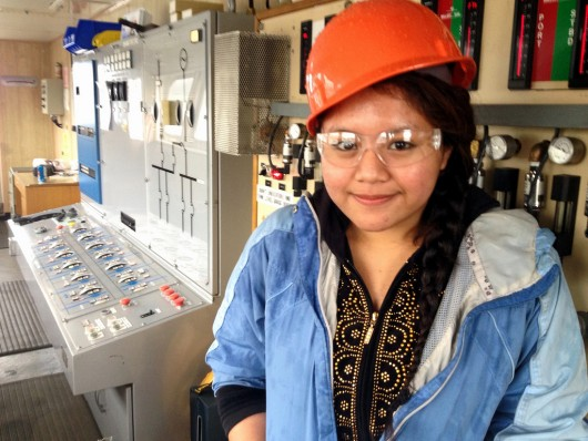 Kaila Del Rosario is planning to work at the Vigor Industrial shipyard in Ketchikan after graduating high school.