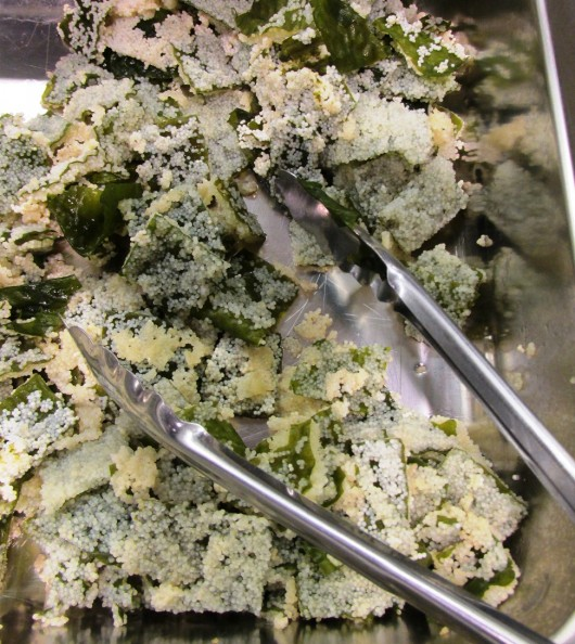 Herring eggs on kelp was among the menu items offered at a recent KIC Meals on Wheels lunch program.