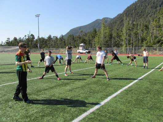 Coaching Ketchikan high school boys into men