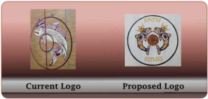 Board discusses logo change