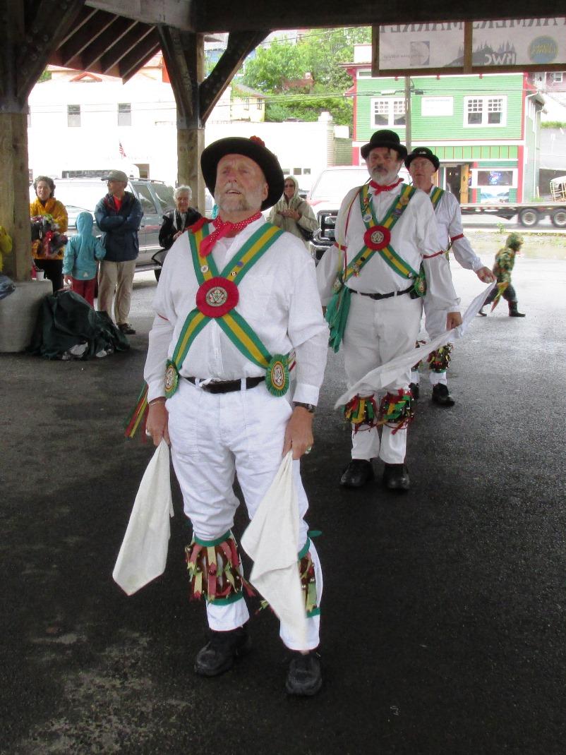 Morris dance groups perform in Ketchikan