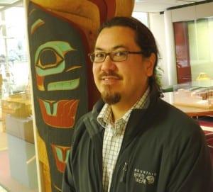 Sealaska Board Chairman Joe Nelson  poses at corporation headquarters in Juneau. Nelson was chosen as the new chairman following the corporation's annual meeting June 28 near Seattle. (Ed Schoenfeld/CoastAlaska)