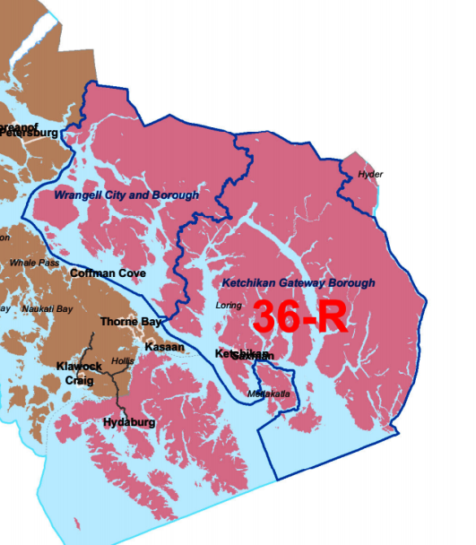House District 36 Map