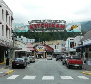 Welcome Arch Mission Downtown Ketchikan