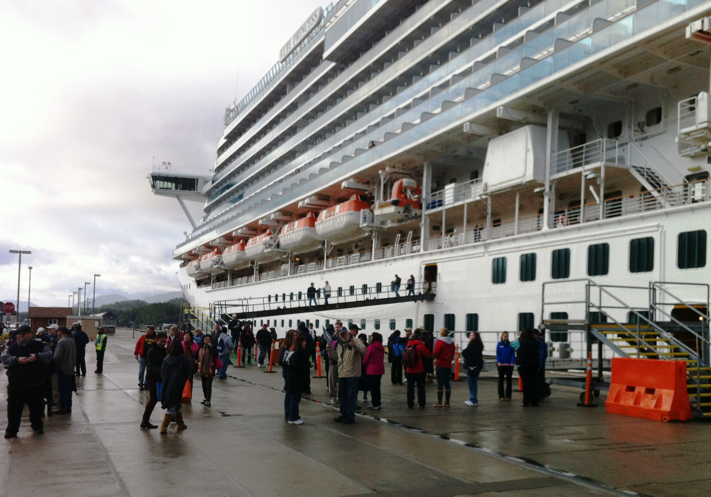 Six Cruise Ships Release Treated Sewage Into Harbors KRBD - Cruise ship sewage