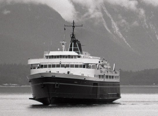 Tying up ferries costs nearly half a million dollars