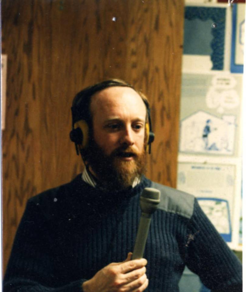 Tom Miller was the first voice heard on KRBD, on May 22, 1976.