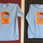 Men & Women's 40th tee shirts